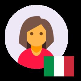 Italian Women Voicer Over