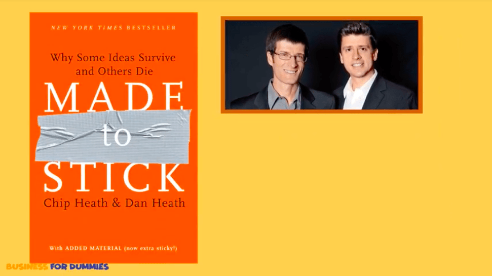 Made To Stick by Chip and Dan Heath – Animated Video Review - Made To Stick:  Why Some Ideas Survive and Others Die by Chip & Dan Heath