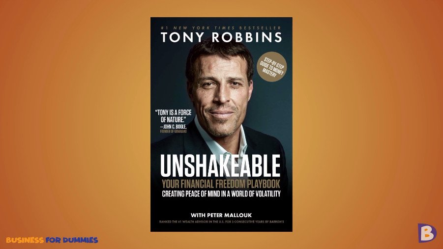 Unshakeable Tony Robbins free ebook review - Unshakeable: Your Financial Freedom Playbook by Tony Robbins