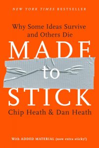 Made To Stick Why Some Ideas Survive and Others Die by Chip and Dan Heath 200x300 - Made To Stick: Why Some Ideas Survive and Others Die by Chip and Dan Heath